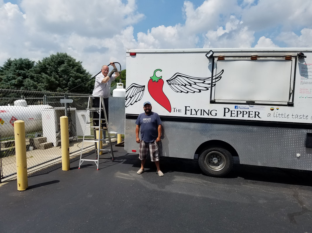 The Flying Pepper Food Truck West Liberty